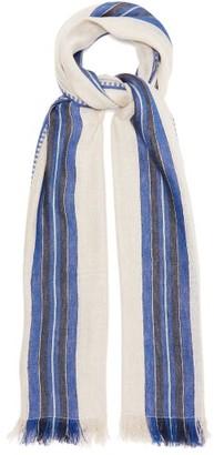 Max Mara Piovra Scarf - Womens - Blue Print