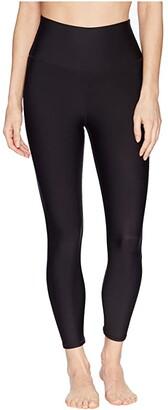 Alo High-Waist Airlift Capri (Black) Women's Casual Pants