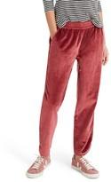 Madewell Women's Velvet Track Pants