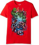 Marvel Men's Avengers Group Shot Short Sleeve T-Shirt