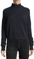 Vince Saddle Cashmere Turtleneck Sweater