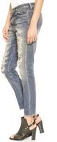 R 13 Shredded Slouchy Skinny Jeans