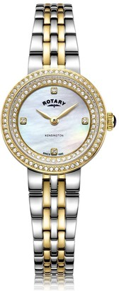 Rotary Watches Two Tone Gold Kensington Ladies