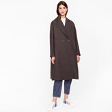 Paul Smith Women's Black Polka Dot Ottoman Coat