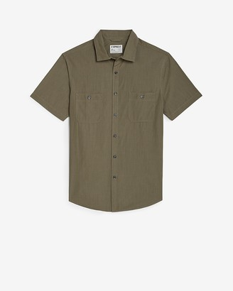 Express Slim Short Sleeve Shirt