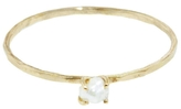 Melissa Joy Manning Prong Set Pearl Ring - Yellow Gold
