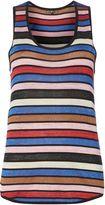 Biba Stripe knitted vest