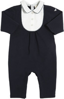 Armani Junior Cotton Piqué Romper