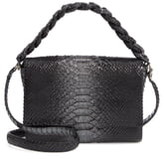 Nancy Gonzalez Small Carrie Genuine Crocodile Metallic Clutch