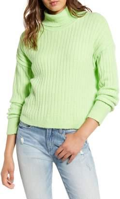 Love by Design Neon Turtleneck Sweater