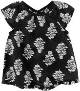 Carter's Baby Girl Floral Vented-Back Top