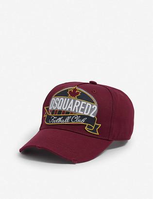 Dsquared2 Acc Football club badge cotton cap