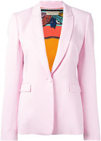 Emilio Pucci one button blazer - women - Spandex/Elastane/Acetate/Viscose - 42