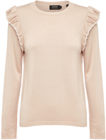 Oxford Lola Ruffle Knit Nude X