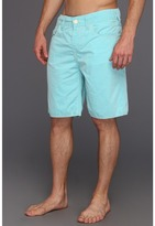True Religion 5 Pocket Big T Swim Boardshort (Faded Caribbean) - Apparel