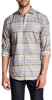 Thomas Dean Printed Long Sleeve Regular Fit Shirt