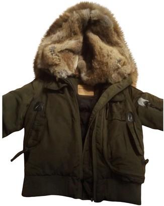Parajumpers Khaki Beaver Jackets & Coats