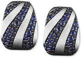 Effy Balissima by Sapphire Stripe Mini Hoop Earrings (2-3/8 ct. t.w.) in Sterling Silver