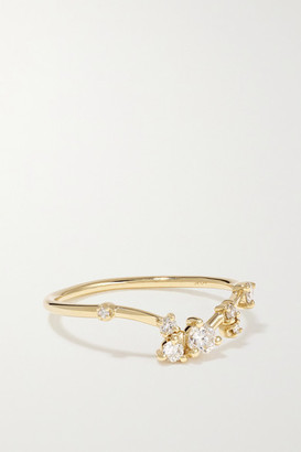 WWAKE 14-karat Gold Diamond Ring