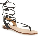 Splendid 'Candee' Wraparound Lace Flat Sandal (Women)
