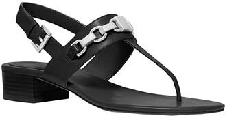 MICHAEL Michael Kors Charlton Sandal (Black) Women's Shoes