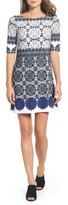 Eliza J Petite Women's Jersey Shift Dress