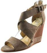 Vince Camuto Milena Women US 10 Gray Wedge Sandal