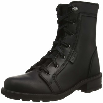 Keen Women's Oregon City Mid Height Leather Casual Combat Boot