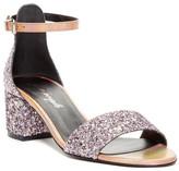 Free People Marigold Glitter Block Heel Sandal
