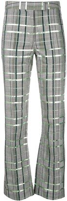Rosie Assoulin Check Print Trousers