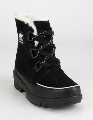 Sorel Tivoli IV Womens Black Boots