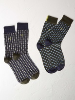 White Stuff In the rain socks 2 pack