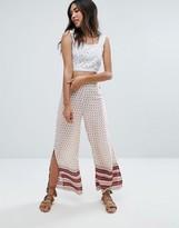 Glamorous Border Print Pants