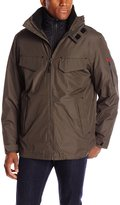 London Fog FOG by Men's Ellington Anorak Jacket with Removable Hood