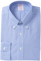 Brooks Brothers Checkered Long Sleeve Madison Fit Shirt