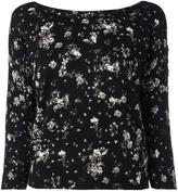 Twin-Set flower pattern jumper - women - Cotton/Viscose - XS