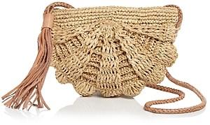 Mar y Sol Zoe Mini Raffia Crossbody Bag