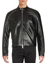 DSQUARED2 Textured Leather Jacket