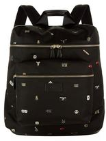 Paul Smith Charms Print Backpack
