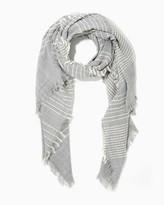 Charming charlie Softly Striped Blanket Scarf