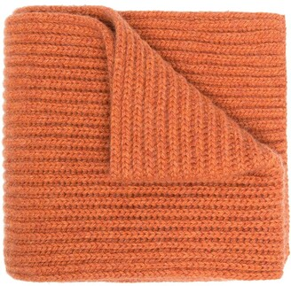 Pringle Scottish cashmere ribbed scarf