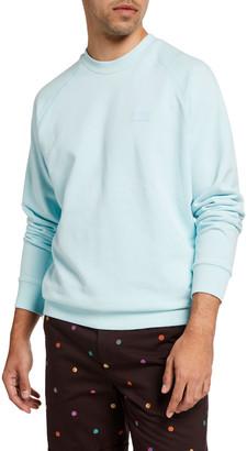 Scotch & Soda Men's Organic Cotton Crewneck Sweatshirt