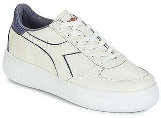 Diadora B.ELITE L WIDE WN women's Shoes (Trainers) in White
