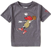 Under Armour Little Boys 2T-7 Peanut Outfielder Short-Sleeve Tee