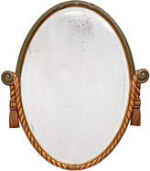 Rejuvenation Revival-Style Carved French Mirror w/ Tassels