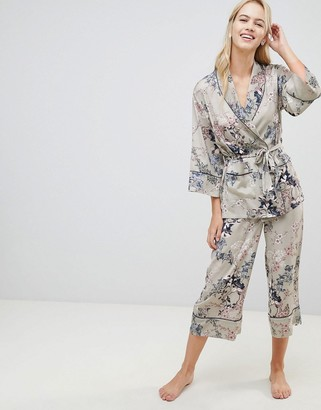 Lindex Ella M floral pyjama bottoms