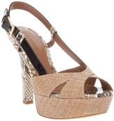 Dolce & Gabbana peep toe sandal