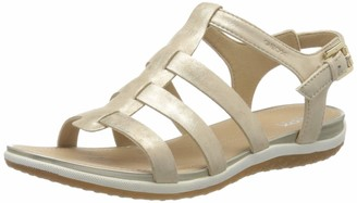 Geox Women's D Vega A Open Toe Sandals