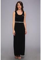 Calvin Klein Belted Rayn Maxi Dress CD4N11X3