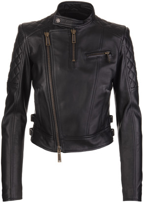 DSQUARED2 Woman Kiodo Leather Jacket